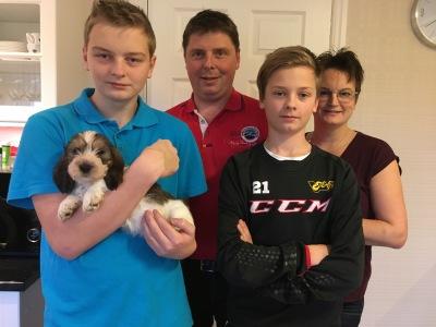 Rocky med familjen Nohlgren