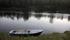 Invid Såmmarlappastugorna fanns denna båt som man kunde ta sig över Tarrraälven med,...