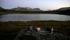 Kvällsmat under tillredning indid en sjö strax innan Staloluoktastugorna.