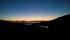 ...och vackra färger då man tittade i en annan riktning när solen gått ner...
