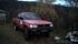 I Katterat fanns denna bil, antagligen för att kunna användas på grusvägen som jag gick på.