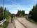 Här över Piteälven rullar tåget över Piteälvsbron som är en av de få...