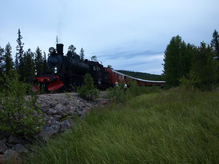 Inlandsbanan sommaren 2013.