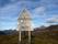 ...fyra kilometer grusväg till fjorden. En grusväg som till strörsta delen är en lång nedförsbacke.