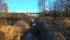 När man tagit sig under viadukten och istället tittar mot norr, kan man även se stolpen där infartssignalen till Övertorneå lär ha varit placerad.