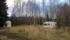 Några gamla husvagnar i skogen.