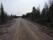 Vid min första avstickare ut från nationalparken kom jag ut på denna grusvägen...