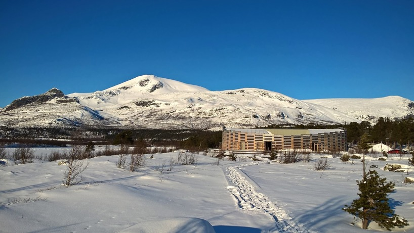 Naturum vid Stora Sjöfallet.