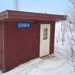 Den nya hållplatskuren i Sjisjka, lär nog även den vara försedd med en ramp under snön.