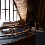...så jag pasade på att titta in i kapellet.