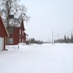 Stationshuset i Fjällåsen verkar numera vara en privat bostad för permanentboende.