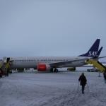 I Kiruna ligger snön kvar.