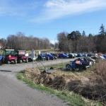 Det är många olika fordon som används på Arholma.