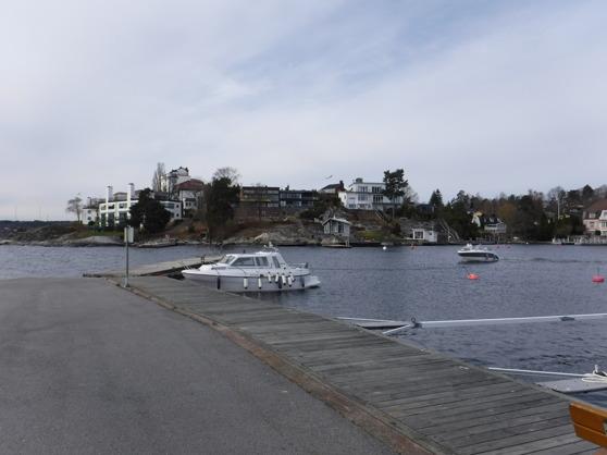 Lördagsmorgon vid Käppala båthamn.