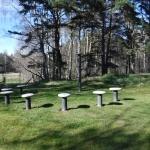 Olof Palme tillbringade många somrar på Fårö. Därför har man anlagt denna minnesplats för att hedra honom på Fårö.