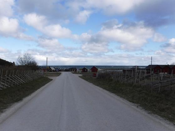 Lickershamn på Gotland.