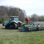 Något så ovanligt som en banddriven traktor.