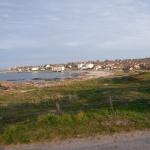 Kvällen närmar sig på Bornholm.