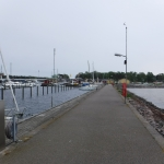 Vid Höllvikens gästhamn, vid Falsterbokanalen så passade jag på att tanka båten och äta lunchbuffé.