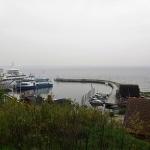...samt en annan stor båt som troligen går till Danmark.