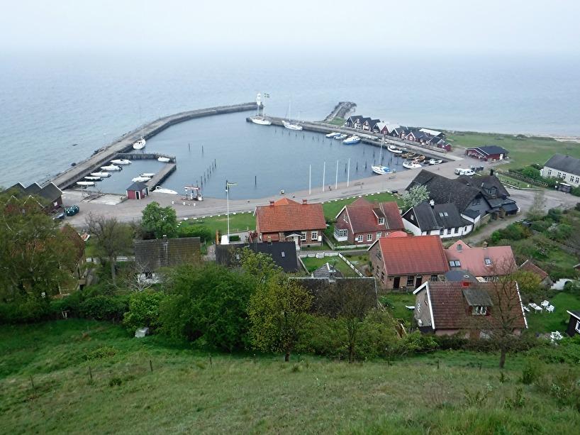 Hamnen vid Kyrkbacken på Ven.