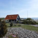 Ett hus på Hallands Väderö.