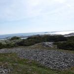 Hallands Väderö, med havet utanför ön.
