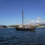 Kan det vara vikingar med ett vikingaskepp?