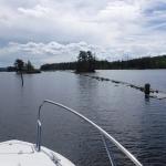 Sjön Viken är med sin höjd på knappt 92 meter över havet, den högsta delsträckan som man färdas på under en Göta kanalresa.