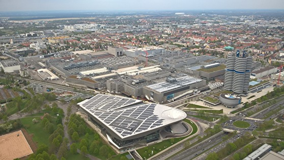 BMW Welt och BMW-muséet i München.