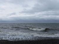 ...som bjöd på stora vågor.