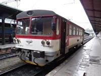 Besök vid järnvägsstationen Praha Masarykovo Nádraží,...