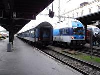 Tåg i Tjeckien.