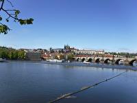 Karlsbron i Prag...
