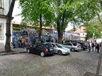 John Lennonmuren i Prag.