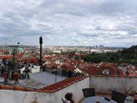 Utsikt över Prag.