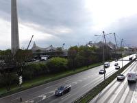 Olympiaparken i München.