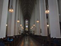 I en kyrka i München.