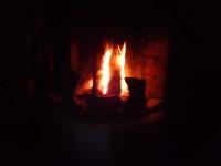 Elden sprakar.