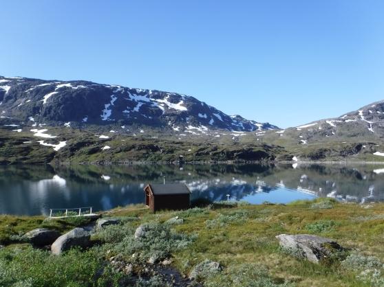 Vid Sitashytta i Norge.