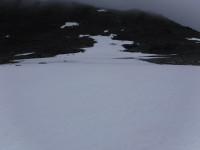 Snöfält.