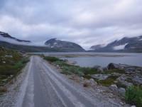 Sjön Tjårdavatnet.
