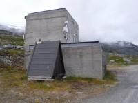 Utanför byggnaden som tillhör Statkraft.