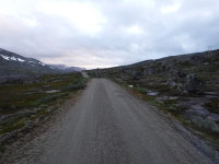 På väg mot den norska stugan Sitashytta.