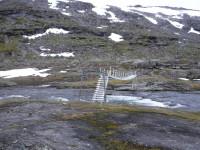 Hängbron vid Baugebua.