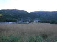 Kraftledningar vid Fjellbu.