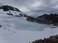 Glaciärområde.