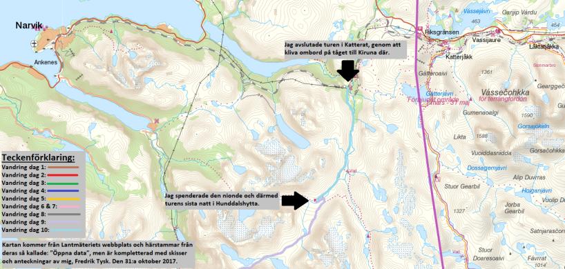 Karta 5 av 5.