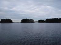 I skärgården då jag närmar mig Söderhamn.