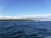 På väg norrut längs Norrlandskusten.